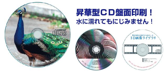 1枚から作成できるCD盤面印刷 大阪梅田 cdラベル印刷はおまかせください