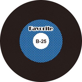 レコード 無料ダウンロード cd dvd盤面ディスク ラベルの印刷
