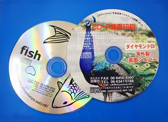 CD盤面印刷